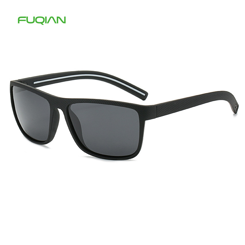 Sports Style Elastic Black comfortable Square Men Polarized SunglassesSports Style Elastic Black comfortable Square Men Polarized Sunglasses