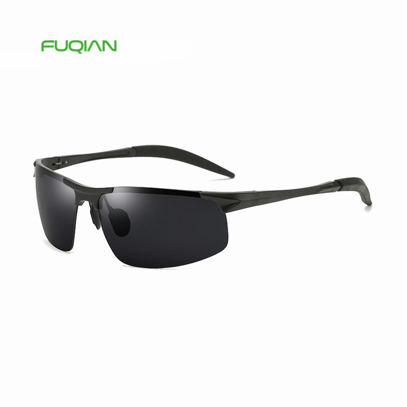 High Quality Square Small Frame TAC Custom Logo Polarized Mens Eyewear