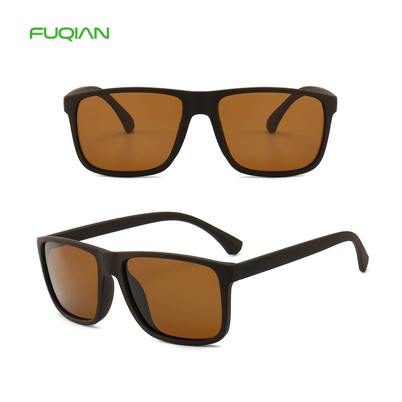 Wholesale High Quality TR90 Square Sports Polarized Men SunglassesWholesale High Quality TR90 Square Sports Polarized Men Sunglasses