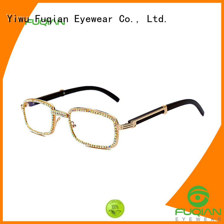 Fuqian round sunglasses women company for racing