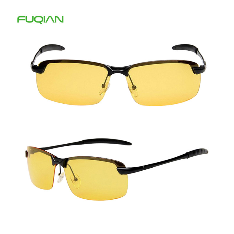 Ward Around Brand Night Vision Sports Square WomenPolarized Sunglasses