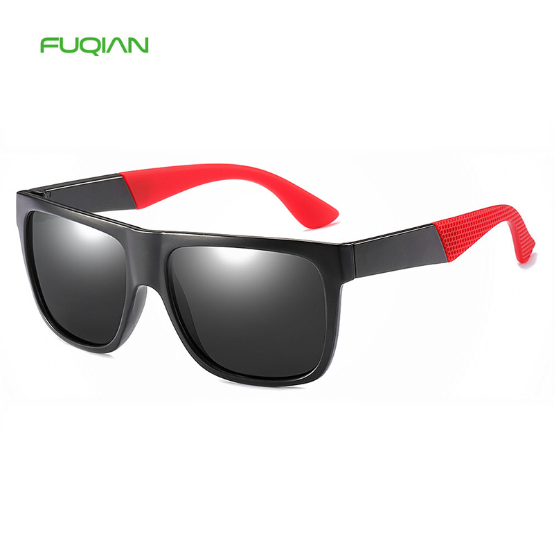 New Trend Square Driving Sports Glasses Riding Mens Polarized SunglassesNew Trend Square Driving Sports Glasses Riding Mens Polarized Sunglasses