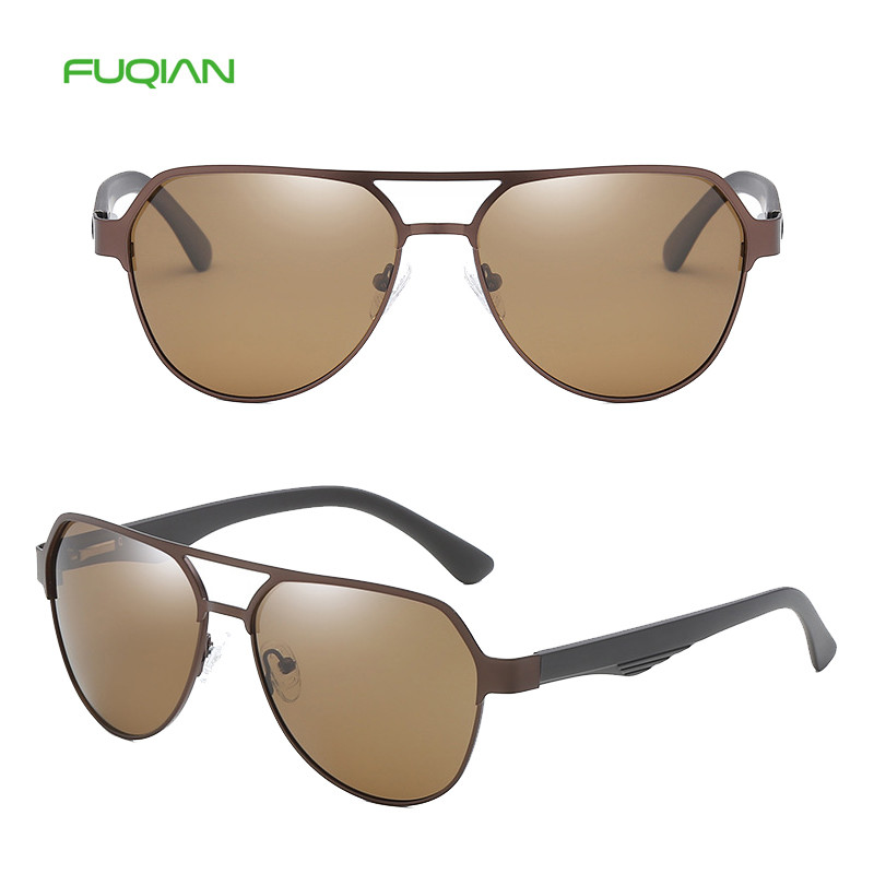 China wholesale market high-quality polarized vintage pilot men sunglassesChina wholesale market high-quality polarized vintage pilot men sunglasses