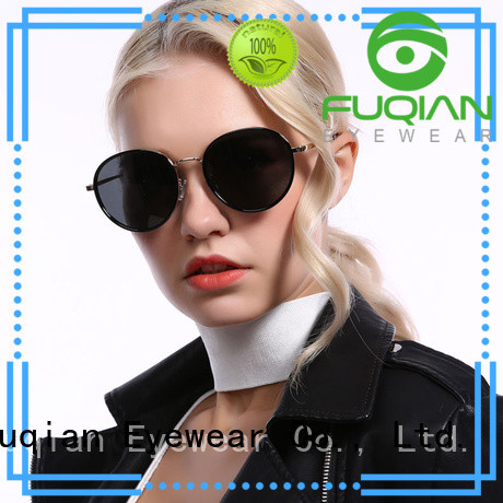 Fuqian dark polarized sunglasses customized for racing