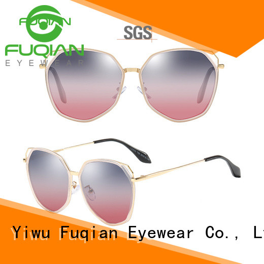 Fuqian mirrored sunglasses women buy now for women