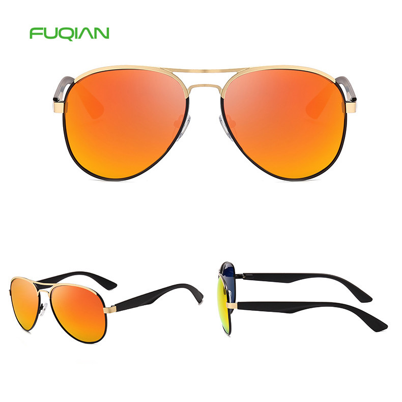 Promotion Brand Designer Outdoors Driving Men Pilot UV400 Sunglasses