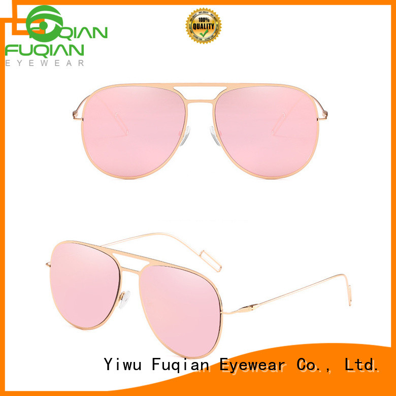 Fuqian Latest blue polarized sunglasses factory for lady