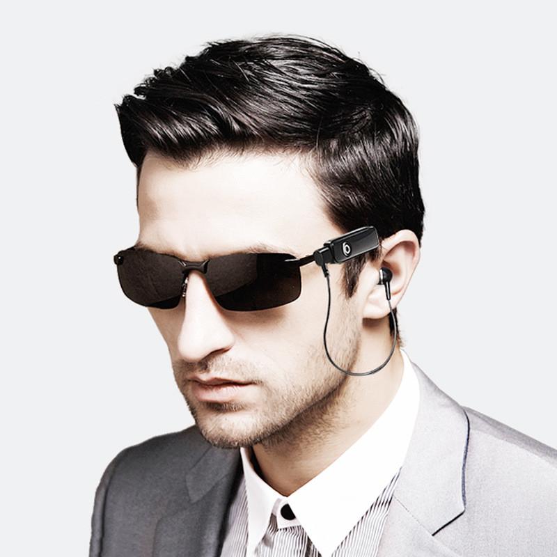 2020 New Arrivals Rimless UV400 Wireless MP3 Bluetooth Cycling Men Women Sunglasses
