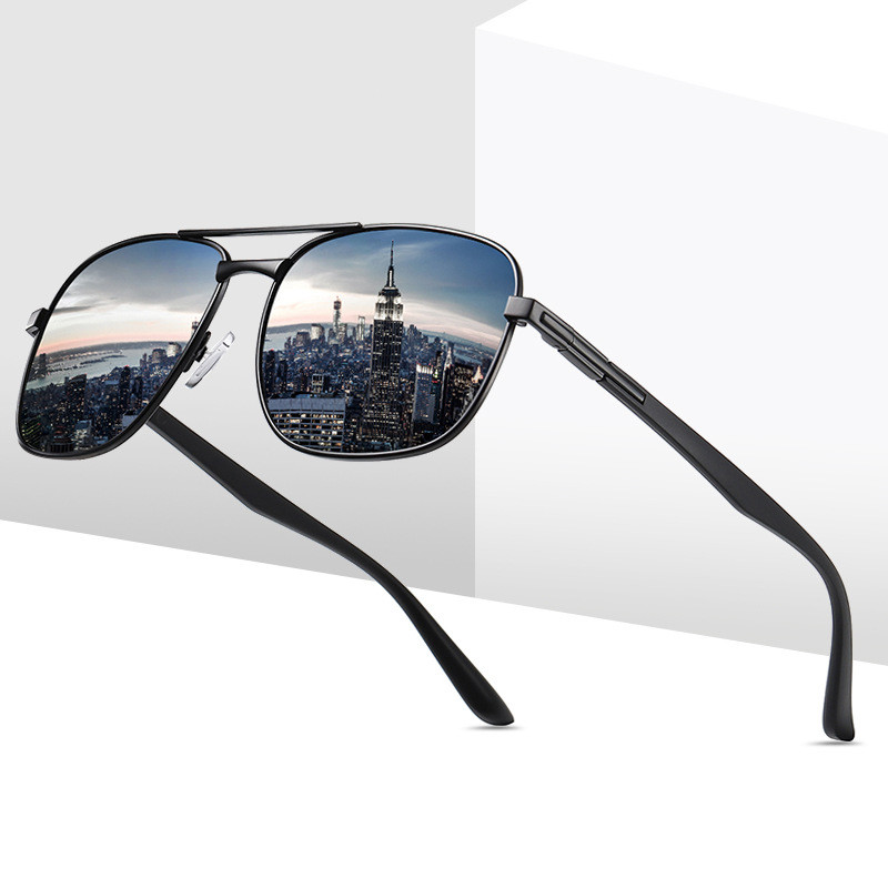 New Polarized Retro Men's Glasses Outdoor Driving Sunglasses