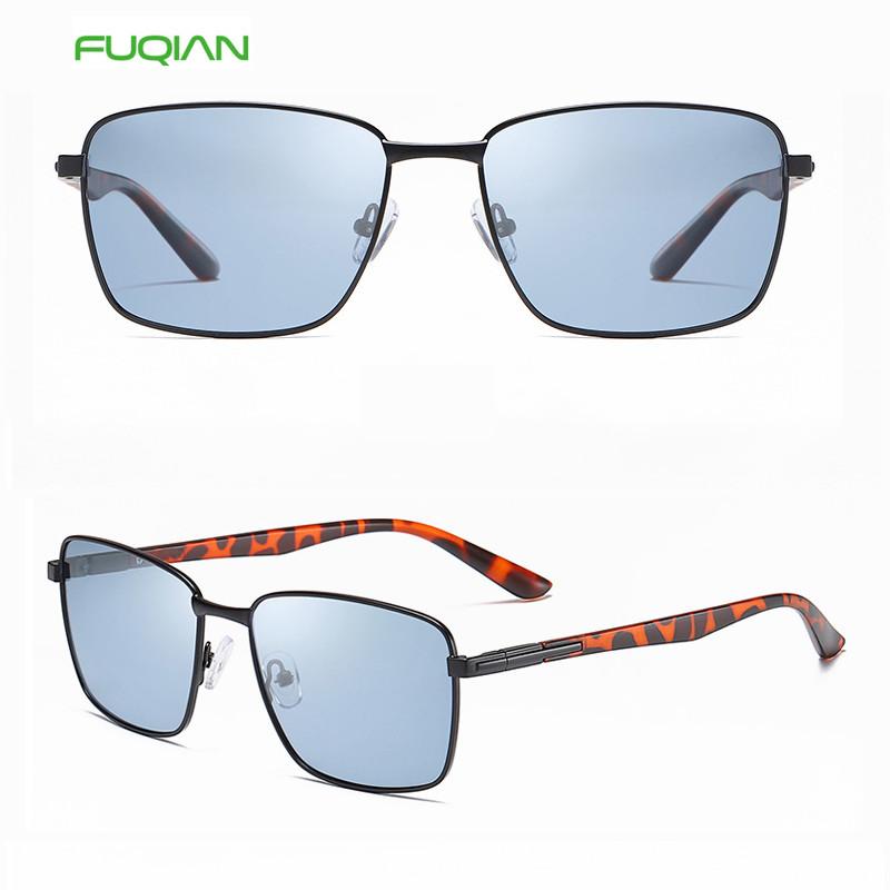 Customized Logo Futuristic Square Ladies Men Sunglasses Polarized