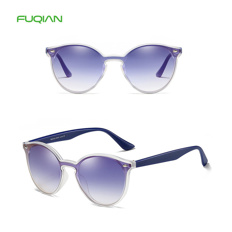 Fuqian eyewear classic female unisex pilot custom fashion sunglasses with logo