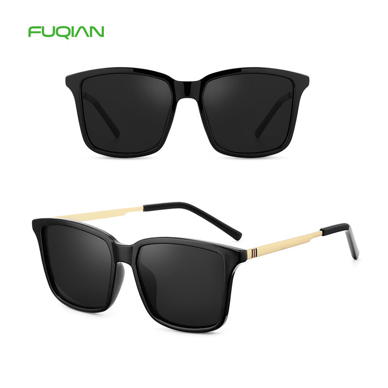 Classic female unisex vintage polarized pilot men women sunglasses