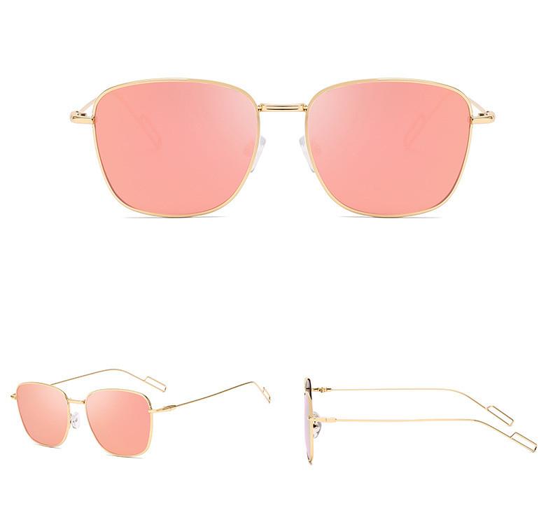 Custom Logo 2019 Small Square Polarized Men Driving Women Sunglasses