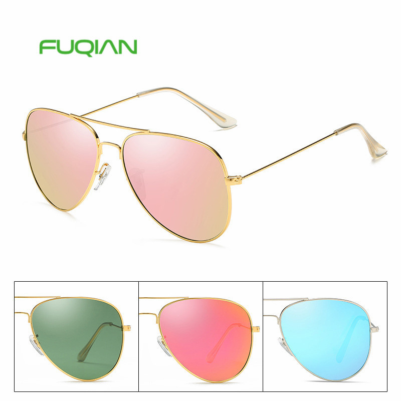 Hot 2019 Fashion Luxury Men Pilot Fishing Round Frame Women Sunglasses