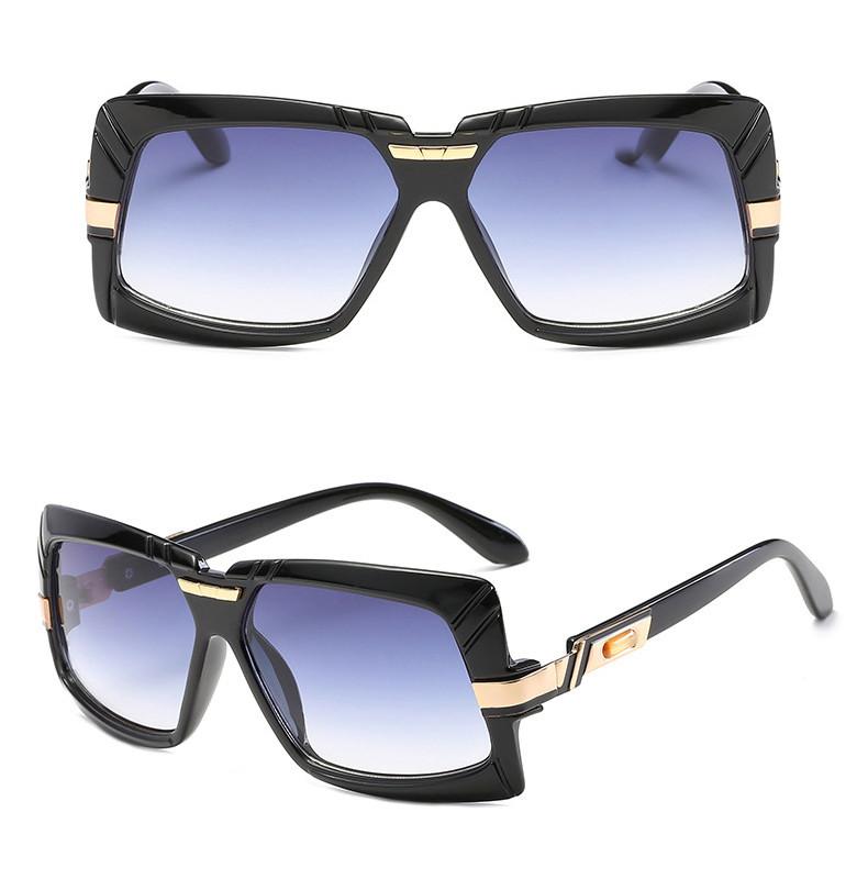 2019 Women Middle Square Metal Material Men Vintage Unisex Sunglasses