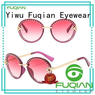 Fuqian women's luxury sunglasses customized for racing