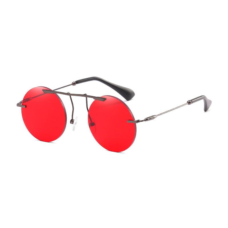 Fashion Small Round Designer Women Retro Men UV400 Unisex Sunglasses