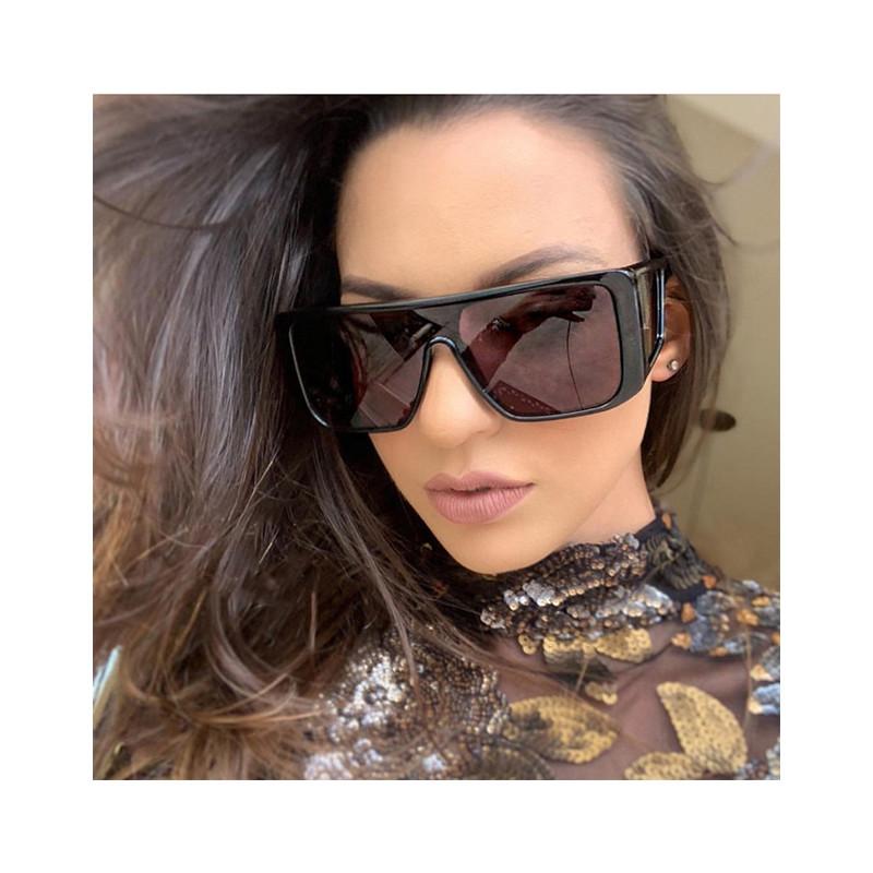 Cool Dazzle OEM Oversized PC Big Frame Female Male Designer Sunglasses
