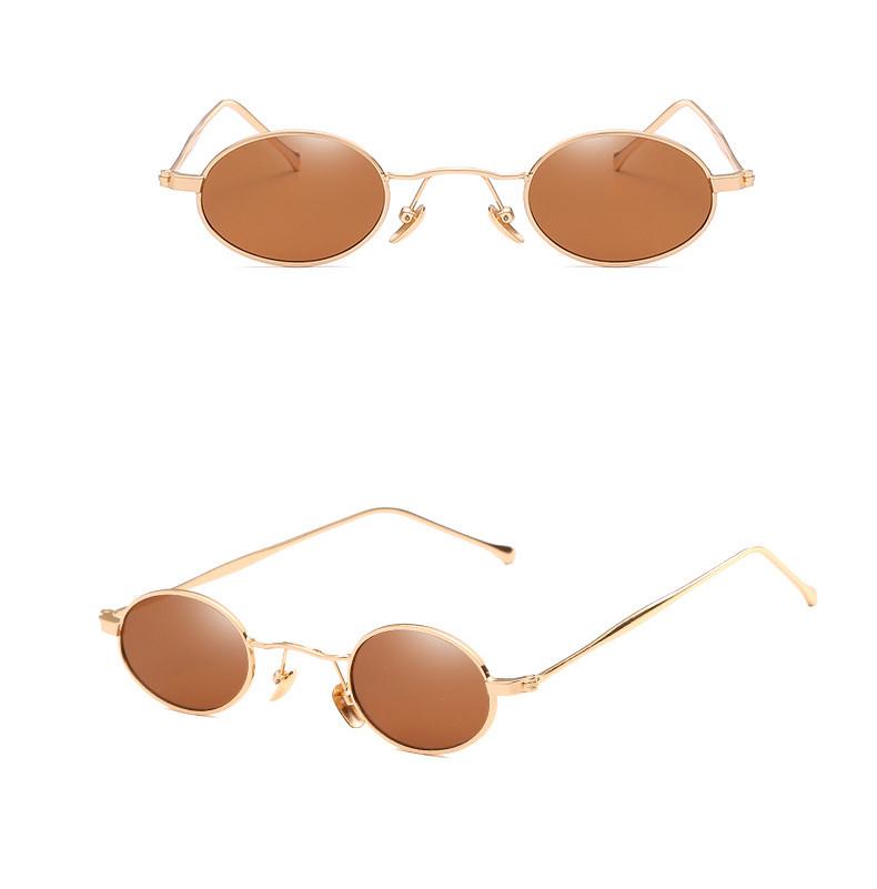 Cool Dazzle Small Round Frame Women China Colored Men Unisex Eyewear