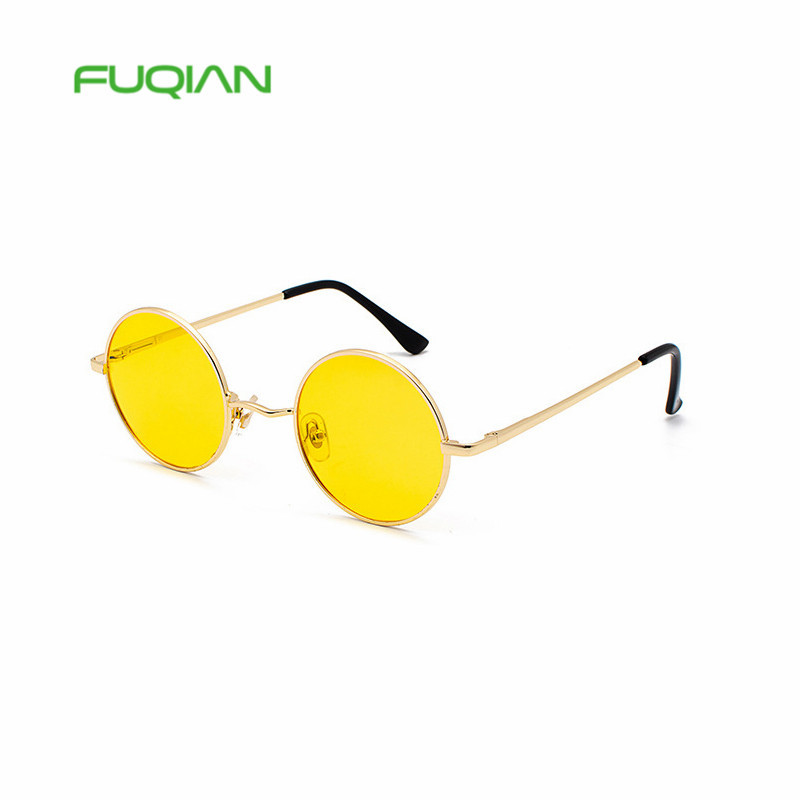 2019 Vintage Oval Classic Sunglasses Women/Men Eyeglasses Street Beat Shopping Mirror Oculos De Sol Gafas UV400