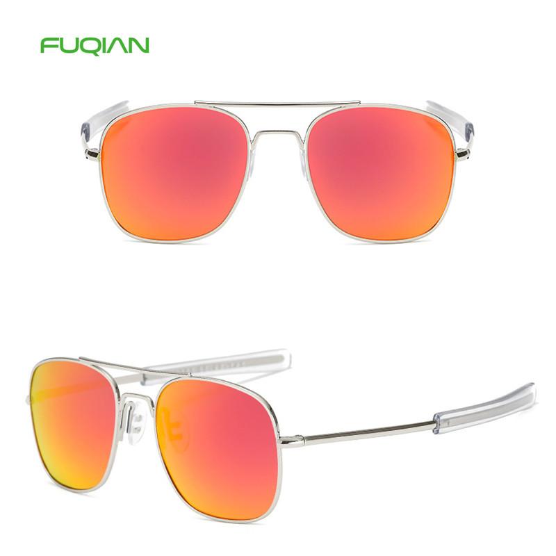 Trendy Square Small Frame UV400 Polarized Women Men Unisex Sunglasses