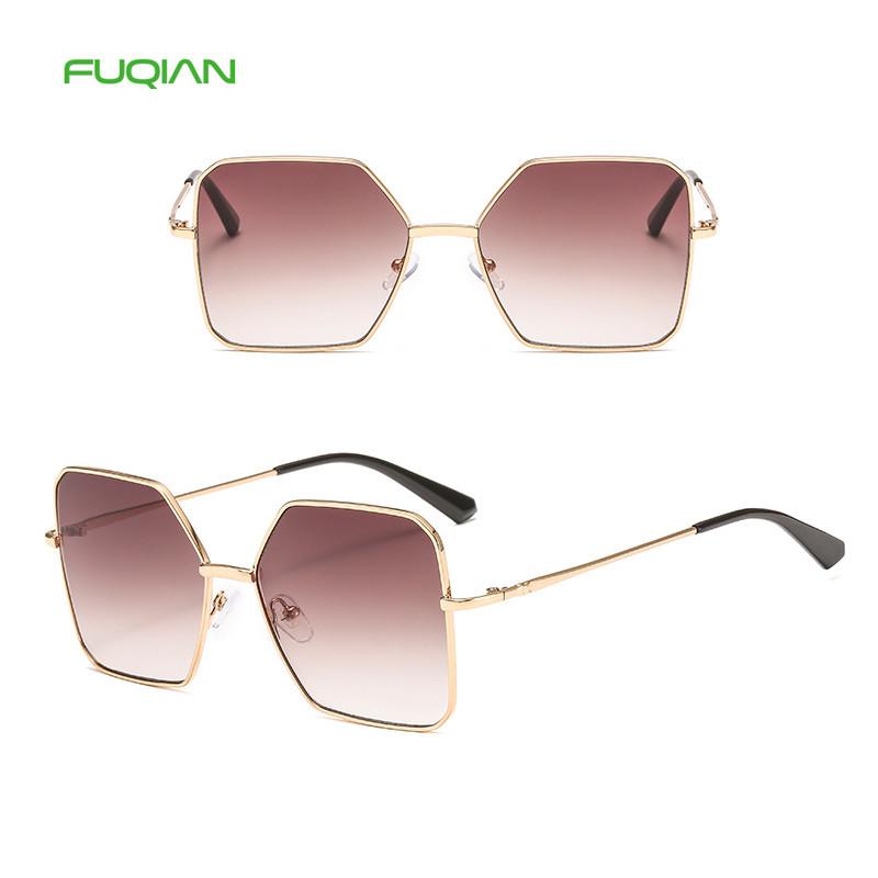 2019 Cool Polygonal Sunglasses For Men Women Square Glasses