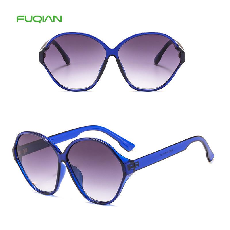 2019 Fashion irregular hinge sunglasses Designer Oversized Sun Glasses