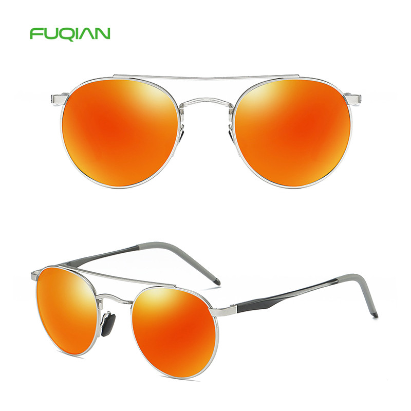 2019 Fashionable Round Designer Glasses Polarized Men Women Sunglasses