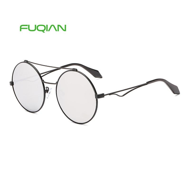 2019 Hot Sale Women Men Retro Sunglasses Unisex Metal Round Frame Sun Glasses