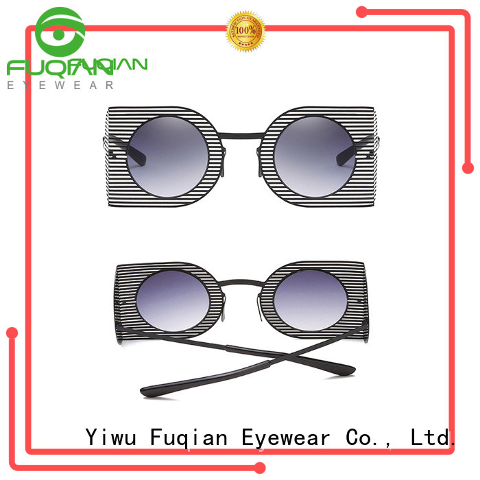 Fuqian female designer sunglasses factory for sport