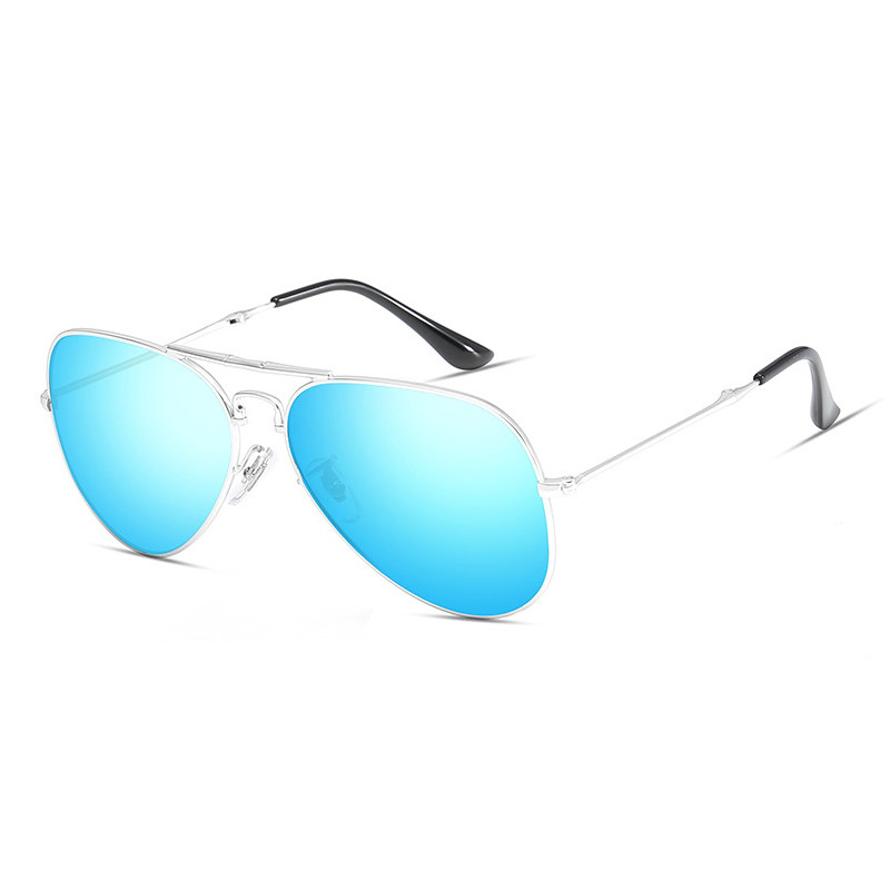 Fashion Metal Material TAC Polarized Foldable Pilot Men Women Eyewear
