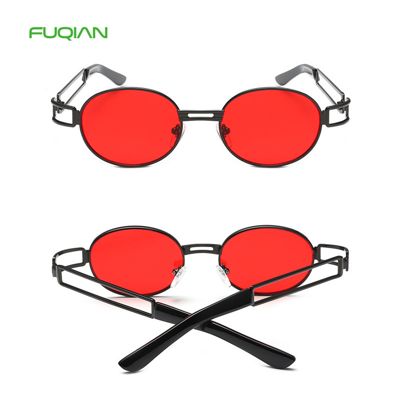 2019 Luxury Round Metal Frame Men Driving Women Shades Custom Eyewear
