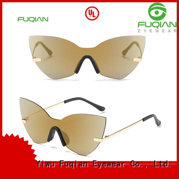 Fuqian Best womens gold sunglasses Suppliers for racing