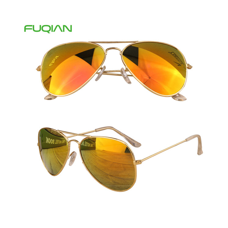 Wholesale Cheap MIrror Colored Pilot Driving Fishing Women Men Eyewear