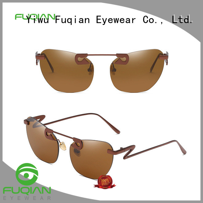 Fuqian wholesale fashion sunglasses for business for sport