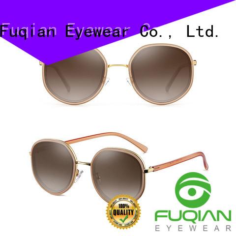 Fuqian blue polarized sunglasses Suppliers for lady