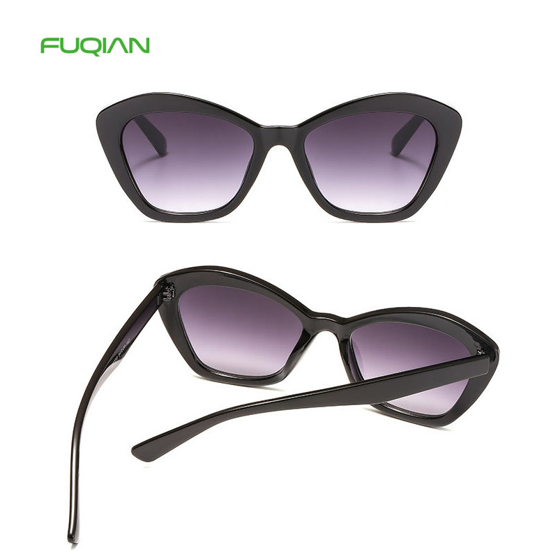 Fresh Style Jelly Color Frame CustomLogo Cat Eye Women Men SunglassesFresh Style Jelly Color Frame Custom  Logo Cat Eye Women Men Sunglasses