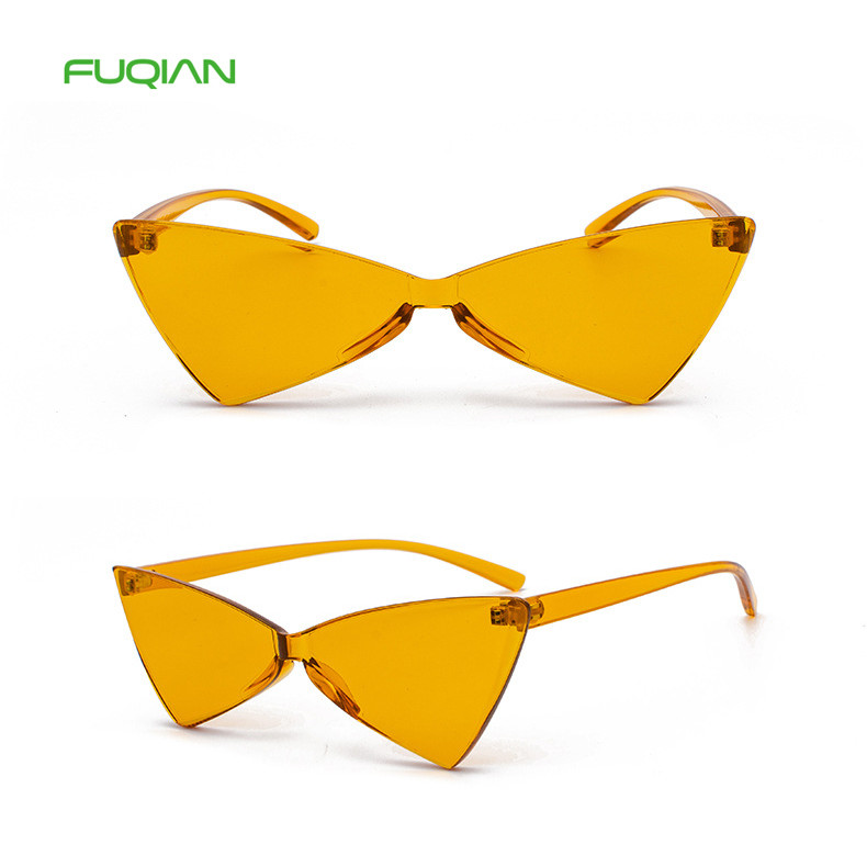 Wholesale Trendy Edgy Inverted Triangle One Piece Women Men SunGlassesWholesale Trendy Edgy Inverted Triangle One Piece Women Men SunGlasses