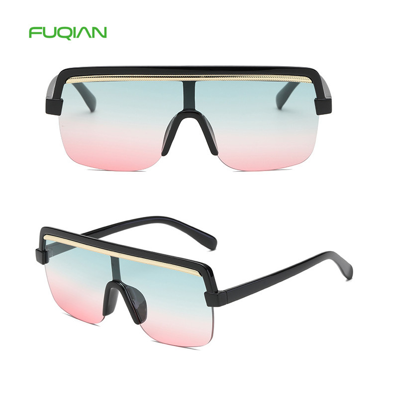 Custom Logo Retro Big Frame Photochromic One Piece Women Men SunglassesCustom Logo Retro Big Frame Photochromic One Piece Women Men Sunglasses