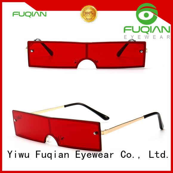 Fuqian women free sunglasses manufacturers for racing