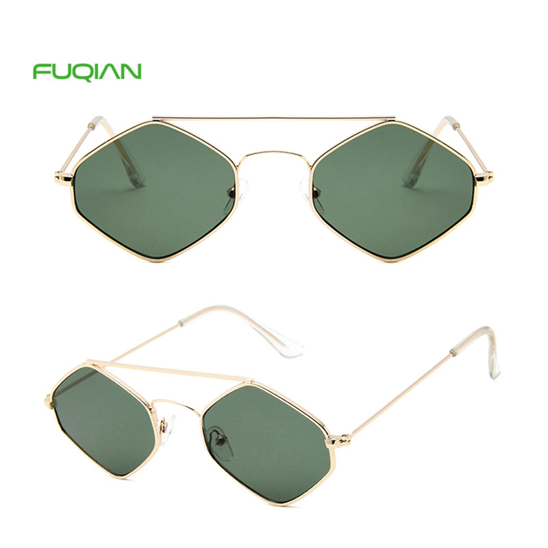 Comfortable Designer Logo Double Nose Bridge UV400 Men Women Rhombus SunglassesComfortable Designer Logo Double Nose Bridge UV400 Men Women Rhombus Sunglasses
