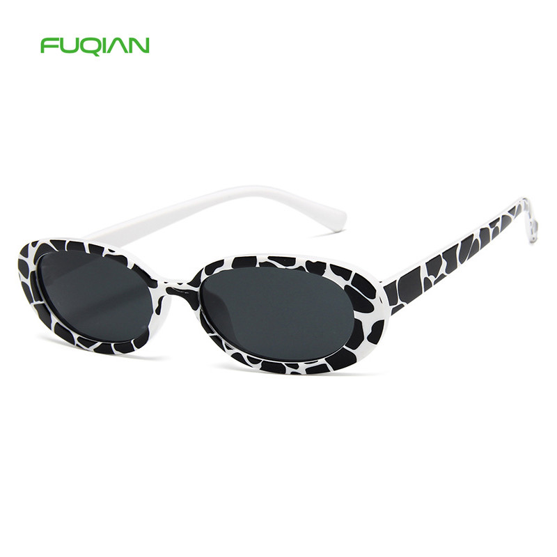 Personality Small Frame Light Wholesale Cow Color Men Women SunglassPersonality Small Frame Light Wholesale Cow Color Men Women Sunglass