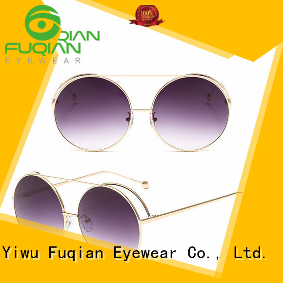 Fuqian stylish female sunglasses Suppliers for sport