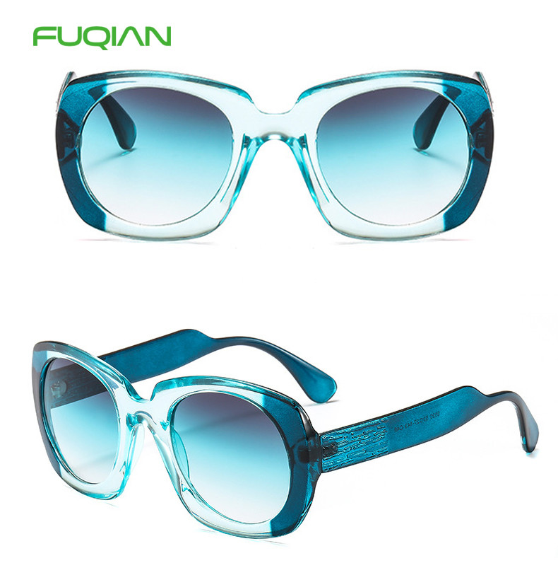 Retro Color Matching Frame Photochromic Oversized Women Men SunglassesRetro Color Matching Frame Photochromic Oversized Women Men Sunglasses