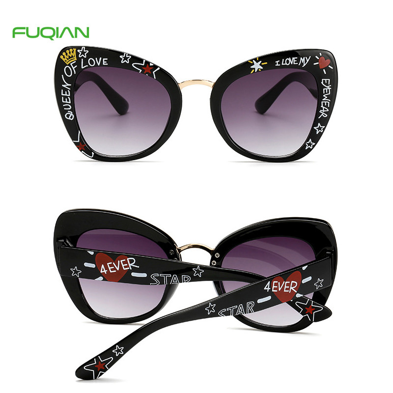 Wholesale Patterns Printing Frame Photochromic Cat Eye Women Men SunglassesWholesale Patterns Printing Frame Photochromic Cat Eye Women Men Sunglasses