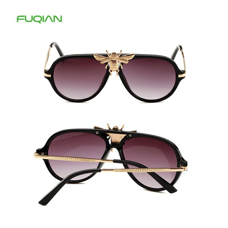 China Manufacturer Newest Luxury Gold Bee UV400 Unisex Pilot SunglassesChina Manufacturer Newest Luxury Gold Bee UV400 Unisex Pilot Sunglasses