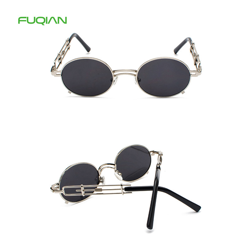 Customized Logo Lentes De Sol Hollow Out Metal Frame Oval Men Women SunglassesCustomized Logo Lentes De Sol Hollow Out Metal Frame Oval Men Women Sunglasses