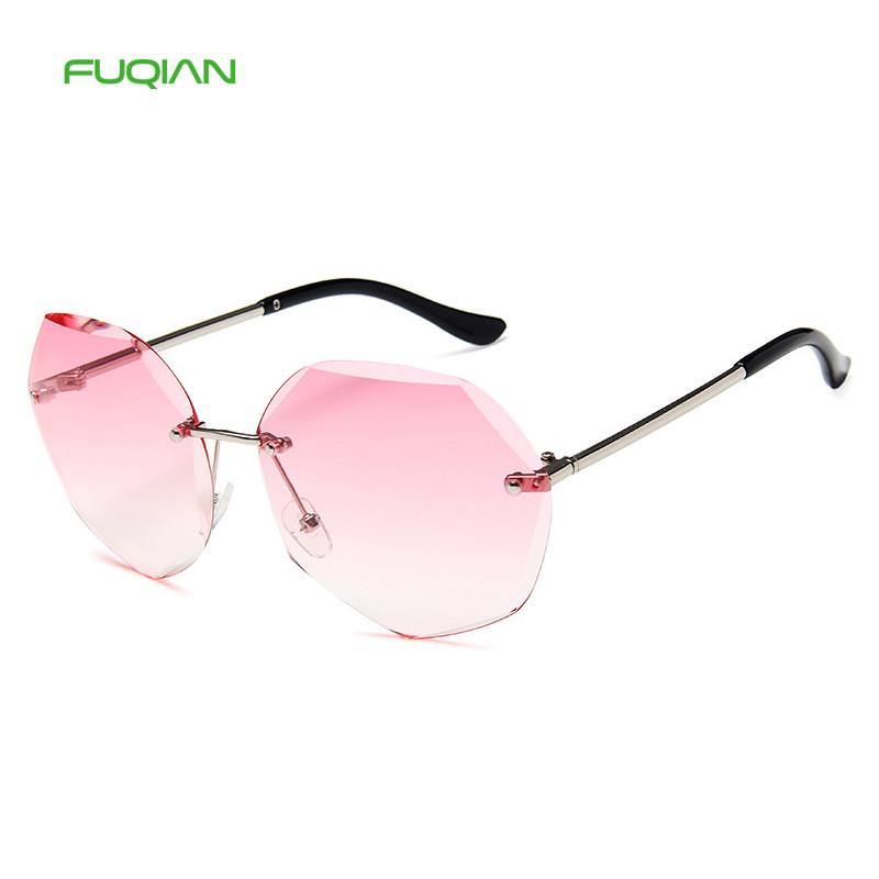 2020 New ArrivalsRetro Photochromic Polygon Women Rimless Sunglasses2020 New Arrivals Retro Photochromic Polygon Women Rimless Sunglasses