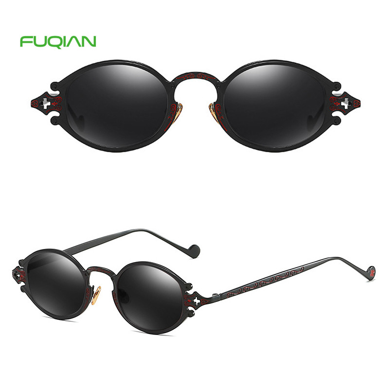 High Quality Punk Men Eyewear OEM Hollow Carved Frame Women SunglassesHigh Quality Punk Men Eyewear OEM Hollow Carved Frame Women Sunglasses