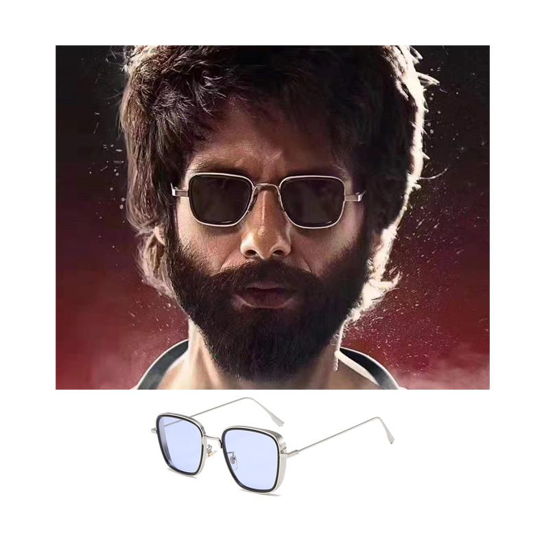 Hot Selling India Kabir Singh Mens Sun Glasses Shades Fashion Vintage Metal UV400 India Sunglasses 2019